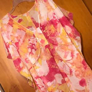 LAUNDRY BY DESIGN  KIMONO SLEEVE SHEER COVER NWT
